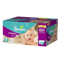 Pampers Cruisers Diapers Economy Plus Pack Size 3 (174 Count)