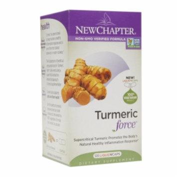 New Chapter Turmeric Force, Vegetarian Capsules, 120 ea