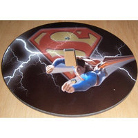 SUPERMAN Light switch Cover 5 Inch Round (12.5 cms) Switch plate Switchplate