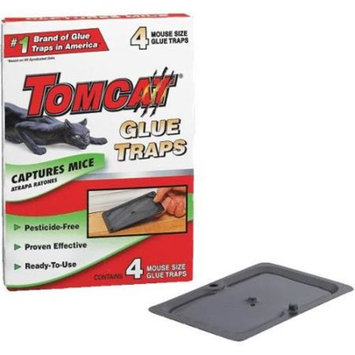 Scotts Tomcat BL32413 Mouse Glue Trap-4PK MOUSE GLUE TRAP