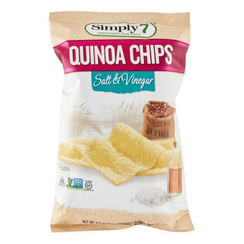 Simply 7 CHIPS, QUINOA, SLT & VINEGAR, (Pack of 12)