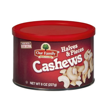 Our Family Halves & Pieces Cashews