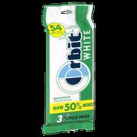 Orbit White Sugarfree Spearmint Gum