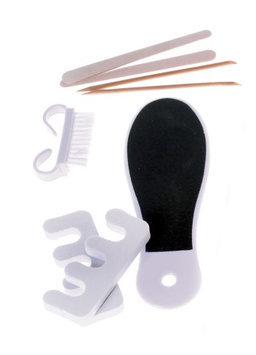 Fragrancenet Spa Accessories - 8 Pcs Pedicure Set - White For Unisex