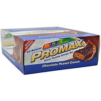 Promax Chocolate Peanut Crunch Energy Bars