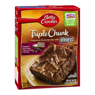 Betty Crocker Triple Chunk Brownie Mix