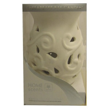 Pacific Trade Home Scents Electric Wax Melt Warmer - Curved White