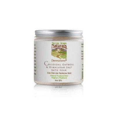 Valley Green Naturals DermaSens Colloidal Oatmeal & Himalayan Salt Bath Soak, 8 oz