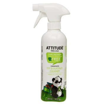 Attitude Little Ones Toy & Surface Cleaner Concentrated, Fragrance Free, 16 fl. Oz