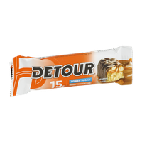 Detour 15g Whey Protein Bar – Lower Sugar Caramel Peanut