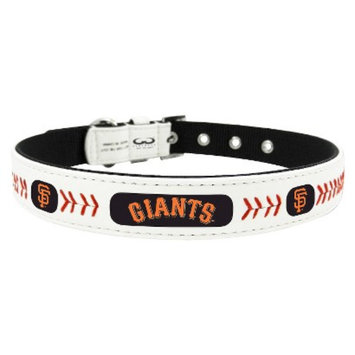 GameWear San Francisco Giants Classic Leather Small Baseball Collar