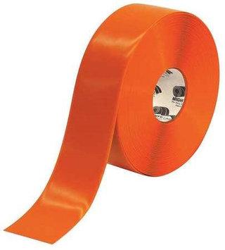 Mighty Line Industrial Floor Tape (Roll, Orange, Vinyl). Model: 3RO