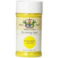 India Tree Sunflower Yellow Decorating Sugar, 3.3 oz (Pack of 3)