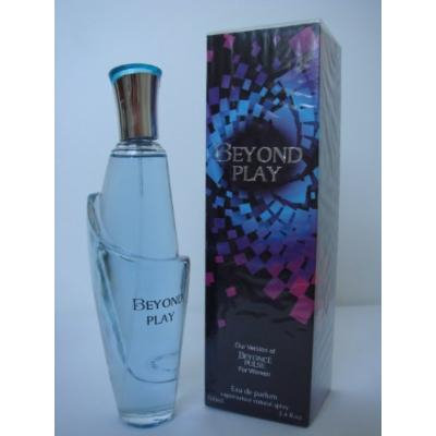 BEYOND PLAY-PERFUME FOR WOMEN-3.4 OZ-EDP-VERSION OF PULSE BY BEYONCE