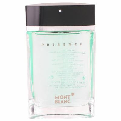 Presence for Men by Mont Blanc EDT Spray (Tester) 2.5 oz