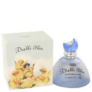 Diable Bleu for Women by Creation Lamis Eau De Parfum Spray 3.4 oz