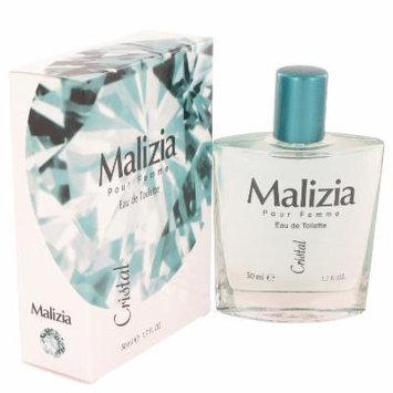 Malizia Cristal for Women by Vetyver EDT Spray 1.7 oz