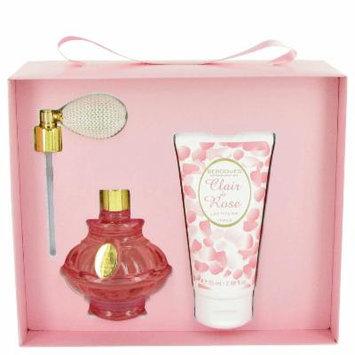 Clair De Rose for Women by Berdoues, Gift Set - 2.6 oz Eau De Toilette Spray + 2.5 oz Body Lotion