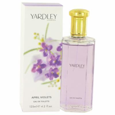 April Violets for Women by Yardley London EDT Spray 4.2 oz