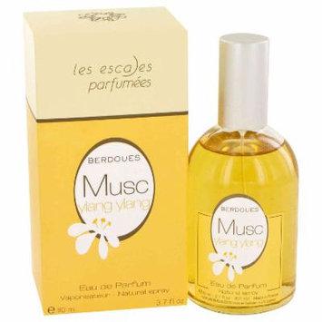 Berdoues Musc Ylang Ylang for Women by Berdoues Eau De Parfum Spray 3.7 oz