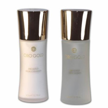 Oro Gold Milk Cleanser And Toner, 2.7-Ounce