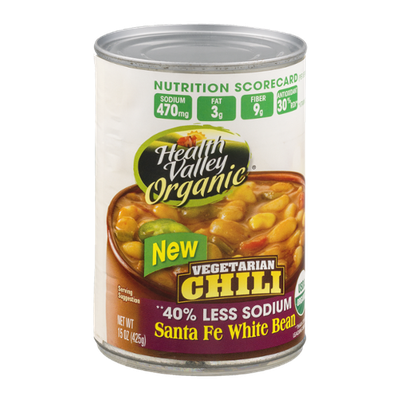 Health Valley Organic Vegetarian Chili Santa Fe White Bean