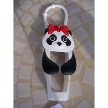 Panda Lipgloss Holder Black White