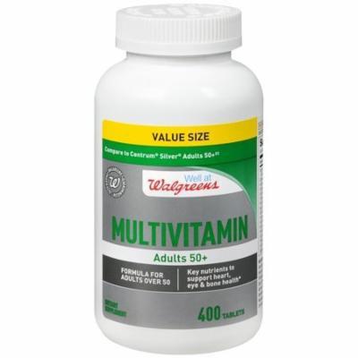 Walgreens A Thru Z Select Multivitamin/Multimineral Supplement Tablet 400 ea