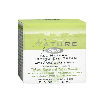 Nature by Canus All Natural Firming Eye Cream with Fresh Goat's Milk