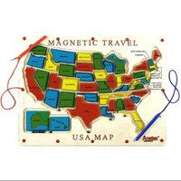 Anatex Children's Magnetic Travel USA Map