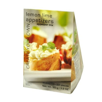 Foxy Gourmet Appetizers Lemon Lime Mix, 3.2-Ounce Boxes (Pack of 3)