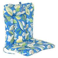 Jordan Outdoor Euro Style Conversation/Deep Seating Cushion - Blue/Green