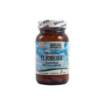 Turmeric Raw Formula 60 VegiCaps