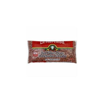La Preferida Red Kidney Beans - 24 Bags (16 oz ea)