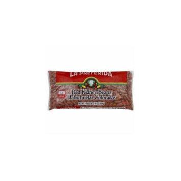 La Preferida Red Kidney Beans - 24 Bags (16 oz ea)