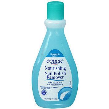 Equate Nourishing Nail Polish Remover, 6 fl oz