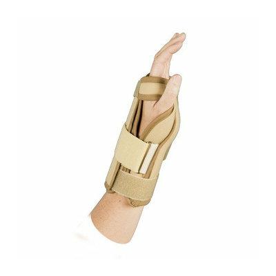 ATSurgicalCompany Left Adjustable Wrist Brace in Beige with Velcro Closure