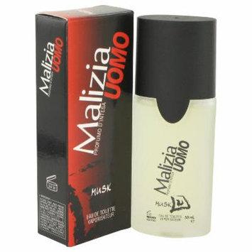 Malizia Uomo Musk for Men by Vetyver EDT Spray 1.7 oz
