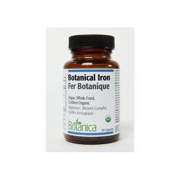 Botanical Iron Capsules (Certified Organic) (60 caps) Brand: Botanica