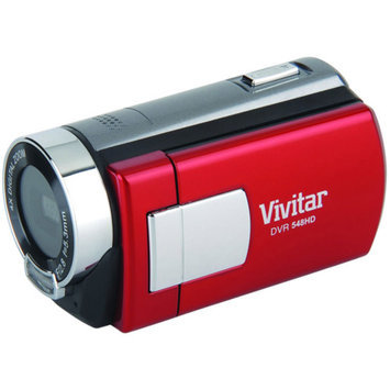 Sakar Vivitar Red DVR548HD-RED HD Digital Camcorder with 2