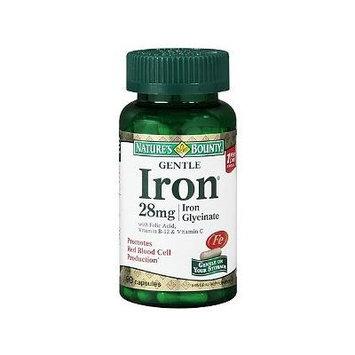 Nature's Bounty Gentle Iron, 28mg 90 capsules