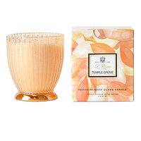 Voluspa Petite Beaded Glass Candle, Temple Grove, 4 oz