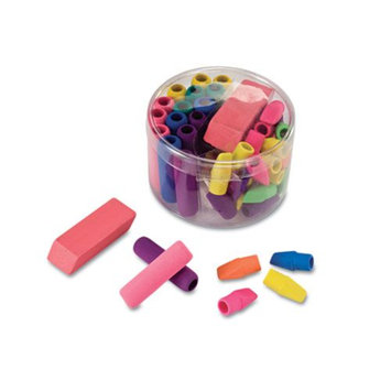 Officemate 30239 Eraser Pack Assorted Colors 45/pack