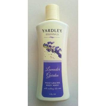 Yardley Essentials Moisturizing Body Wash, Lavender Garden, 7 Fl Oz
