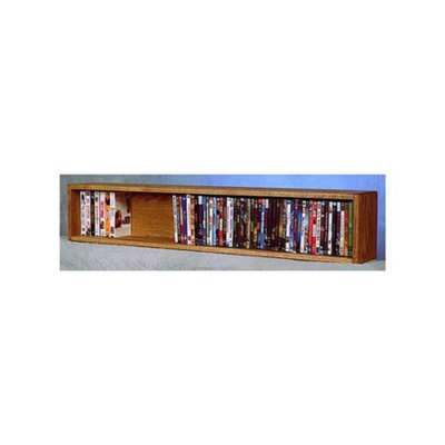 Wood Shed Wall Mount Media Storage (Honey Oak)