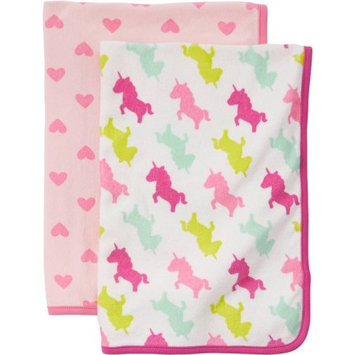 Child Of Mine By Carter's Child Of Mine Made By Carter's Newborn Baby Girl Towel 2-Piece Set