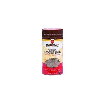 Madhava Honey Organic Coconut Sugar 5 oz. (Pack of 6)