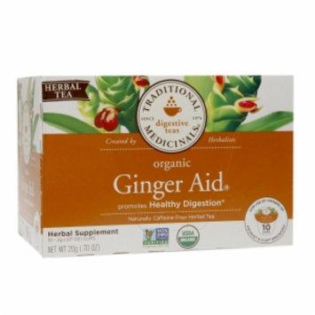 Traditional Medicinals Organic K-Cup, Ginger Aid, 10 ea