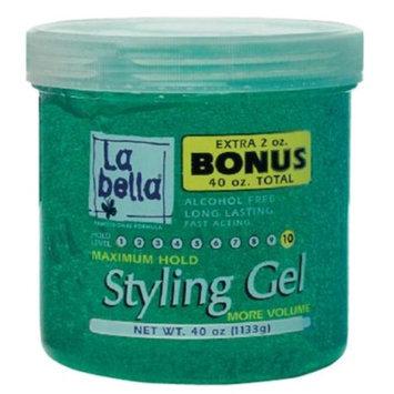 Labella Maximum Hold Styling Gel - 38 oz.
