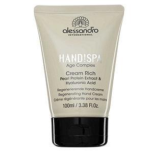 alessandro Cream Rich Regenerating Hand Cream, 3.38 oz